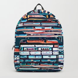 Cool patterns ~ Train Jam Backpack
