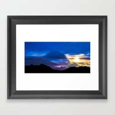 Panning for Lost Time Framed Art Print