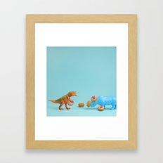 Ring Toss Framed Art Print