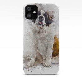 St Bernard iPhone Case