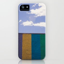 Colored Wall iPhone Case