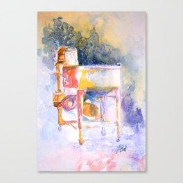 Grandma's Wringer Washing Machine Canvas Print