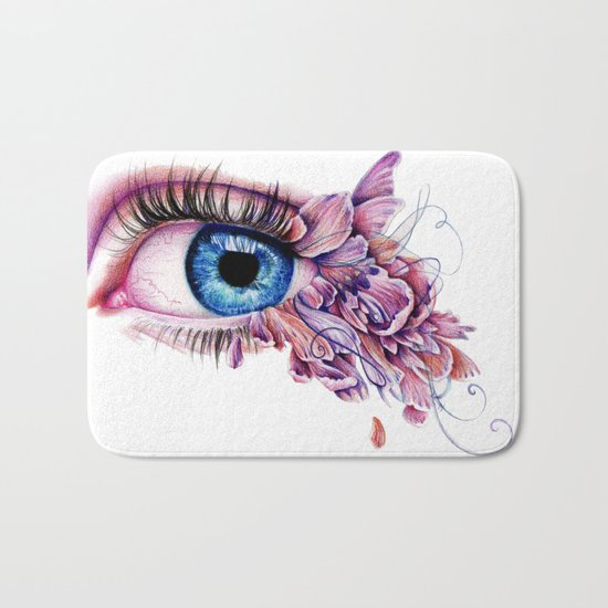 The Soul Would Have No Rainbow If The Eyes Had No Tears Bath Mat