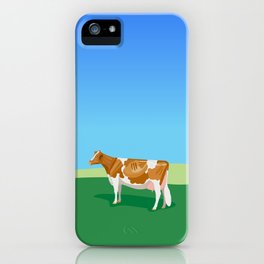 Guernsey // Hillside iPhone Case