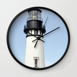 Yaquina Head Lighhouse Wall Clock
