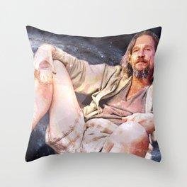 HIS DUDENESS, DUDER, OR EL DUDERINO Throw Pillow