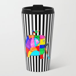 Rainbow Elephant by Elisavet | #society6 Travel Mug