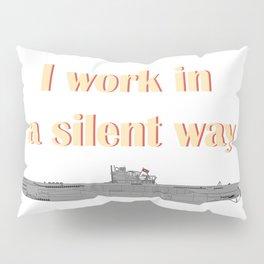 German Submarine Silent Introvert Pillow Sham