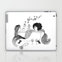 Broad City Mermaid Fan Art Laptop & iPad Skin