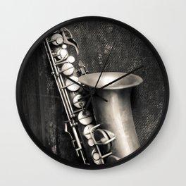 Music in my heart Wall Clock