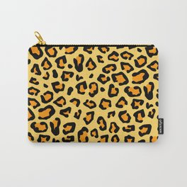 Vintage Style Big Cat Cheetah Leopard Animal Print Pattern Carry-All Pouch