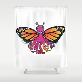 Flutteropus - The Tentacle Collection Shower Curtain