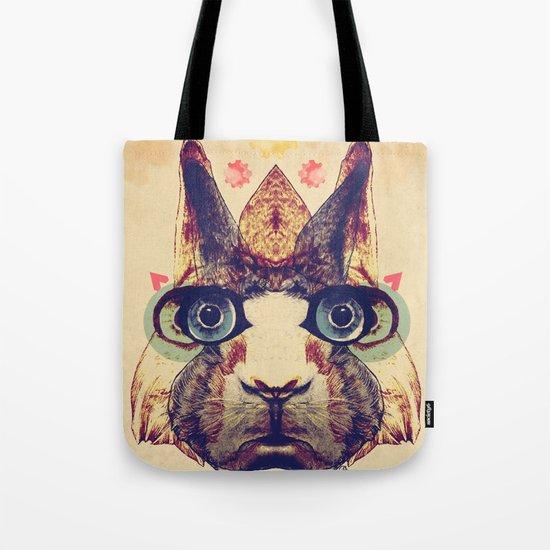 Rabbit Heart Tote Bag