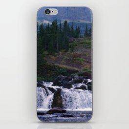 Red Rock Falls iPhone Skin