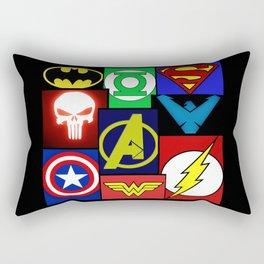 Logo Panel Rectangular Pillow