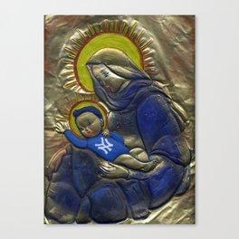 Jesus Was A Yankee's Fan Canvas Print