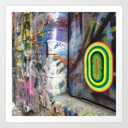 portals of hope melbourne Art Print