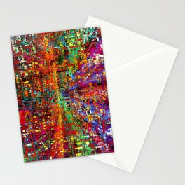 colourful peace Stationery Cards
