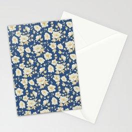 Design of vintage floral pattern. Stationery Cards