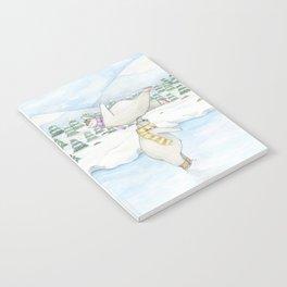 Figure skating polar bears Notebook