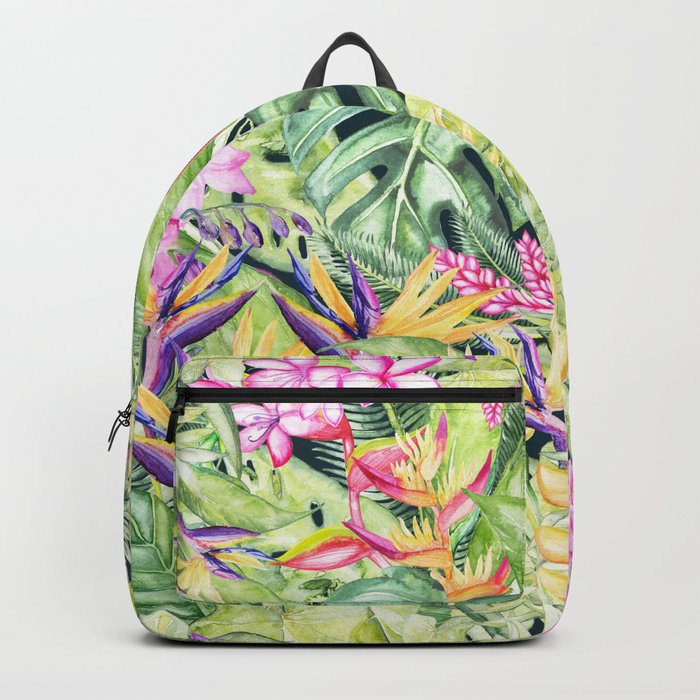 Tropical Garden 1 #society6 Backpack