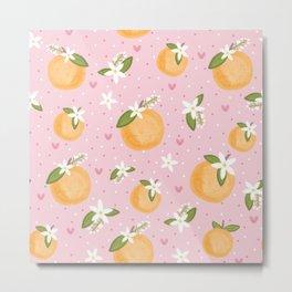 Orange Blossom Special Metal Print