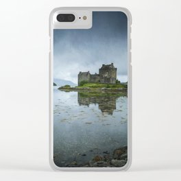 The Guardian of the Lake III Clear iPhone Case