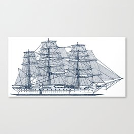 Big Sailing Ship Canvas Print