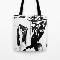 Mist Pattern Tote Bag