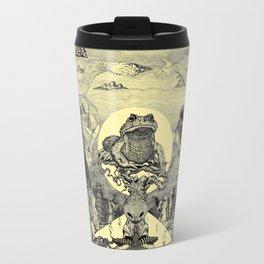 Toad Licking  Travel Mug