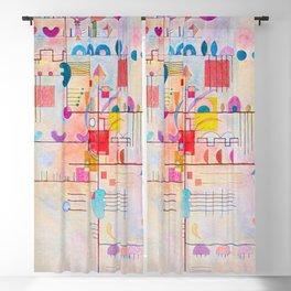 Wassily Kandinsky Gentle Ascent Blackout Curtain