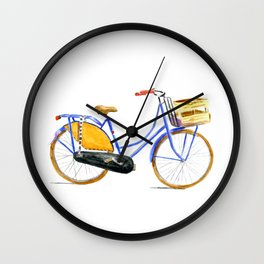 Dutch bike Wall Clock