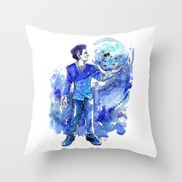 in my room Throw Pillow
