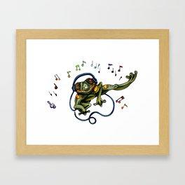 Frog Dancer Framed Art Print