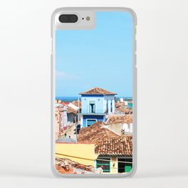 68. Trinidad on the Ocean, Cuba Clear iPhone Case