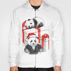 Christmas-Panda's babies g144 Hoody