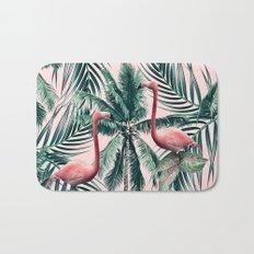 Flamingo tropics Bath Mat