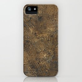 Scratched Grunge Surface iPhone Case