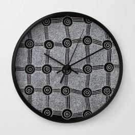 SONGLINES (INMA LAINA) Wall Clock
