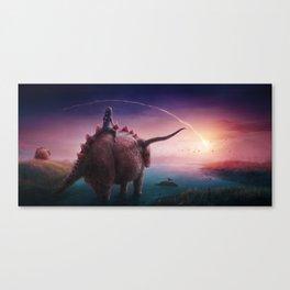 Mystical Time Zone Canvas Print