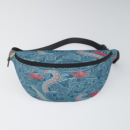 Octopus Ocean Playground smaller print Fanny Pack