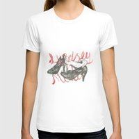 shoes T-shirts featuring Shoes by Lam Designs