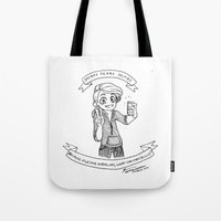 kendrawcandraw Tote Bags featuring Society Fears Selfies by kendrawcandraw