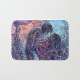 Master of the Mountain Roads Bath Mat