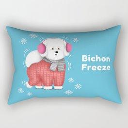 Bichon Freeze Rectangular Pillow