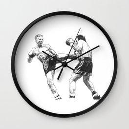 "Ramon ""The Diamond"" Dekkers Wall Clock"