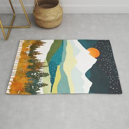 Winters Night Rug