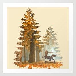 Mystic Hunt Art Print