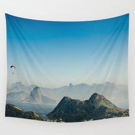 Panoramic Rio de Janeiro Brazil Wall Tapestry