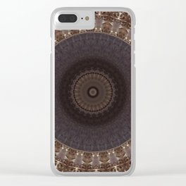 Some Other Mandala 82 Clear iPhone Case